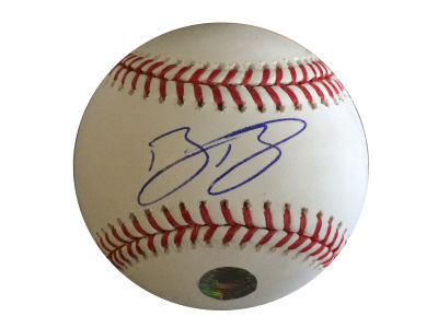 Toronto Blue Jays Bo Bichette Frameworth MLB Signed Baseball Rawlings Replica