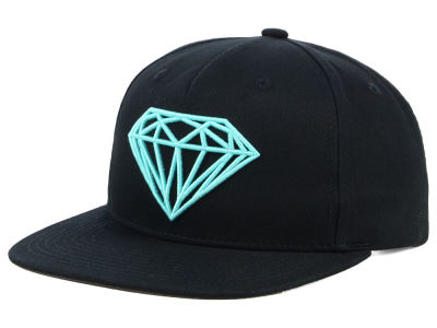 Diamond Brilliant Felt Logo Snapback Cap