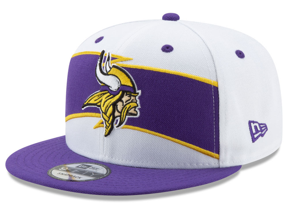 850ba619edf Minnesota Vikings New Era 2018 NFL Thanksgiving 9FIFTY Snapback Cap ...