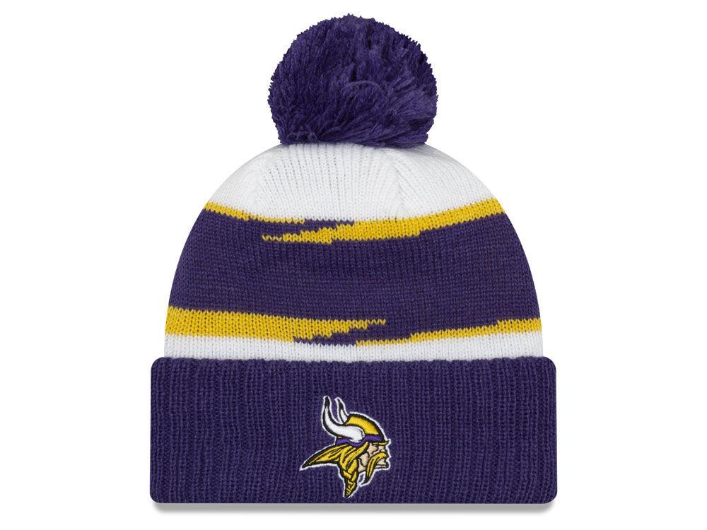 Minnesota Vikings New Era 2018 NFL Thanksgiving Pom Knit  566caff8b