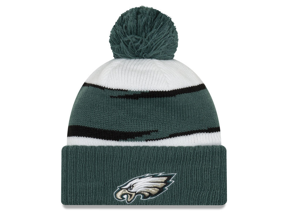 Philadelphia Eagles New Era 2018 NFL Thanksgiving Pom Knit  5d3b8fdc2
