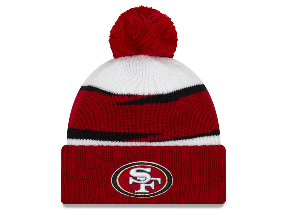 88eceae2bcc San Francisco 49ers New Era 2018 NFL Thanksgiving Pom Knit