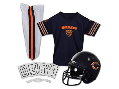 Chicago Bears Franklin NFL Kids Deluxe Football Uniform Small Set