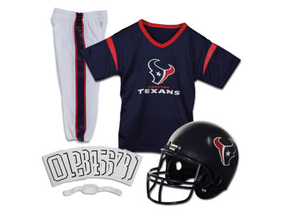 Houston Texans Franklin NFL Kids Deluxe Football Uniform Small Set