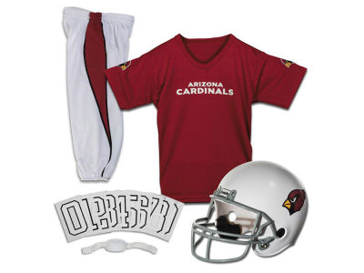 Arizona Cardinals Franklin NFL Youth Deluxe Football Uniform Medium Set