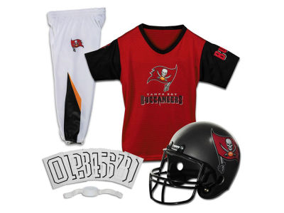 Tampa Bay Buccaneers Franklin NFL Youth Deluxe Football Uniform Medium Set