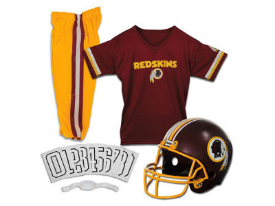 Washington Redskins Franklin NFL Youth Deluxe Football Uniform Medium Set