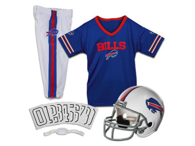 Buffalo Bills Franklin NFL Youth Deluxe Football Uniform Medium Set