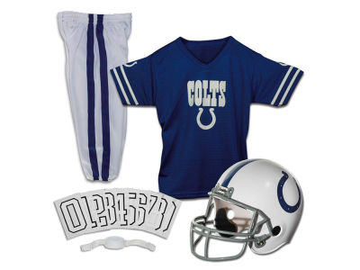 Indianapolis Colts Franklin NFL Youth Deluxe Football Uniform Medium Set