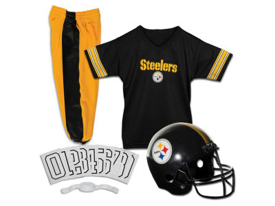 Pittsburgh Steelers Franklin NFL Youth Deluxe Football Uniform Medium Set