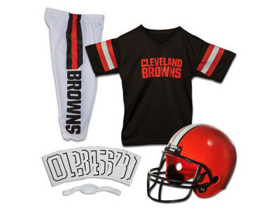 Cleveland Browns Franklin NFL Youth Deluxe Football Uniform Medium Set