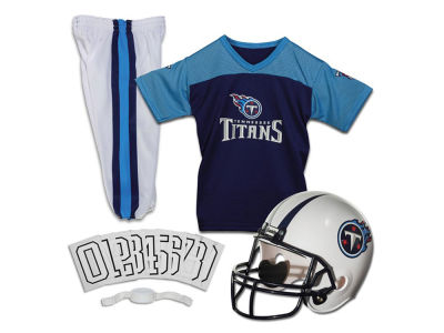 Tennessee Titans Franklin NFL Youth Deluxe Football Uniform Medium Set