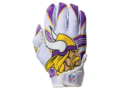 Minnesota Vikings Franklin NFL Youth Football Receiver Gloves