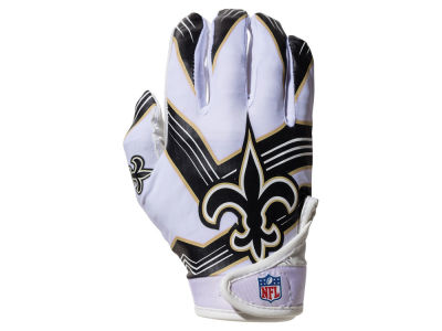 New Orleans Saints Franklin NFL Youth Football Receiver Gloves