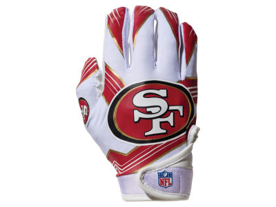 San Francisco 49ers Franklin NFL Youth Football Receiver Gloves