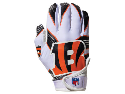 Cincinnati Bengals Franklin NFL Youth Football Receiver Gloves