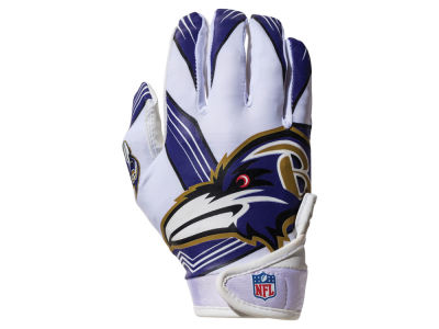Baltimore Ravens Franklin NFL Youth Football Receiver Gloves