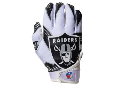 Oakland Raiders Franklin NFL Youth Football Receiver Gloves