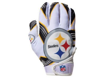 Pittsburgh Steelers Franklin NFL Youth Football Receiver Gloves