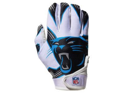 Carolina Panthers Franklin NFL Youth Football Receiver Gloves