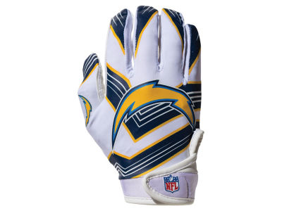 Los Angeles Chargers Franklin NFL Youth Football Receiver Gloves