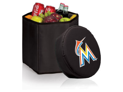 Miami Marlins Picnic Time 12 Quart Bongo Cooler & Seat