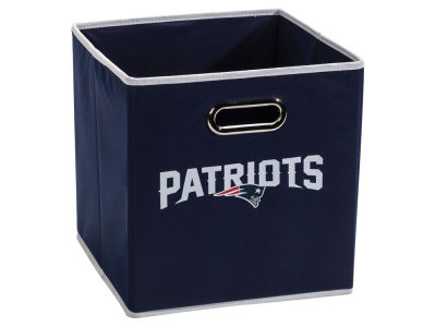 New England Patriots Franklin NFL Collapsible Storage Bin