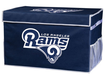 Los Angeles Rams Franklin NFL Collapsible Storage Footlocker Bins - Large