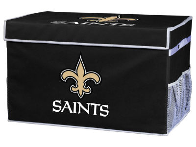 New Orleans Saints Franklin NFL Collapsible Storage Footlocker Bins - Small