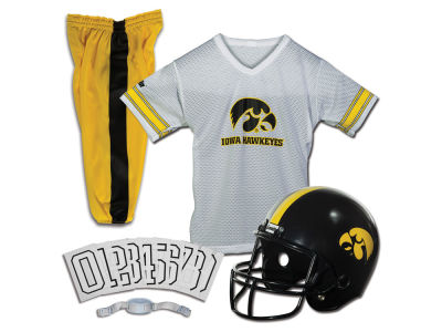 Iowa Hawkeyes Franklin NCAA Kids Deluxe Football Uniform Set-Small