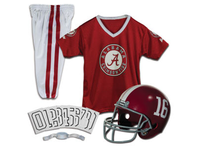 Alabama Crimson Tide Franklin NCAA Kids Deluxe Football Uniform Set-Medium