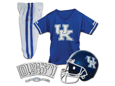 Kentucky Wildcats Franklin NCAA Kids Deluxe Football Uniform Set-Medium