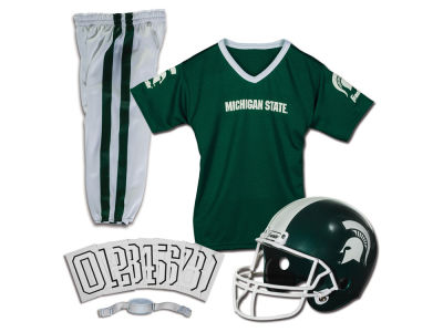 Michigan State Spartans Franklin NCAA Kids Deluxe Football Uniform Set-Medium