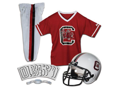 South Carolina Gamecocks Franklin NCAA Kids Deluxe Football Uniform Set-Medium