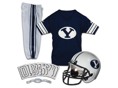 Brigham Young Cougars Franklin NCAA Kids Deluxe Football Uniform Set-Medium