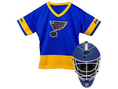 St. Louis Blues Franklin NHL Youth Team Hockey Uniform Set