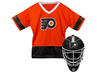 Philadelphia Flyers Franklin NHL Youth Team Hockey Uniform Set