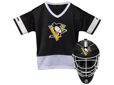 Pittsburgh Penguins Franklin NHL Youth Team Hockey Uniform Set