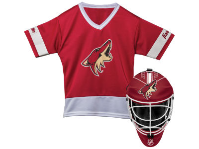 Arizona Coyotes Franklin NHL Youth Team Hockey Uniform Set