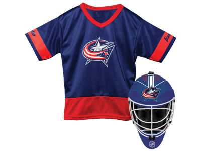 Columbus Blue Jackets Franklin NHL Youth Team Hockey Uniform Set