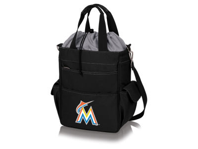 Miami Marlins Picnic Time Activo Cooler Tote Bag