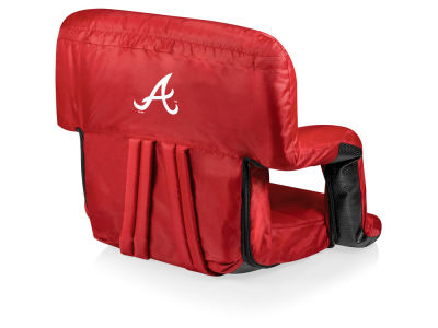 Atlanta Braves Picnic Time Ventura Portable Reclining Stadium Seat