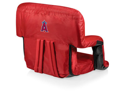 Los Angeles Angels Picnic Time Ventura Portable Reclining Stadium Seat