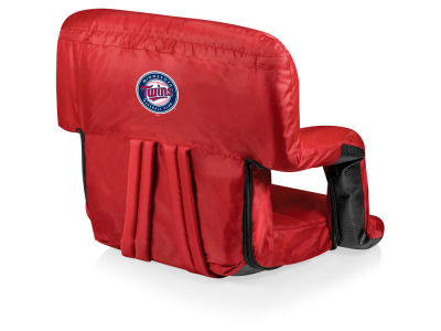 Minnesota Twins Picnic Time Ventura Portable Reclining Stadium Seat