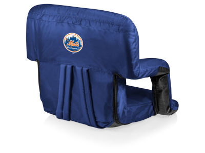 New York Mets Picnic Time Ventura Portable Reclining Stadium Seat