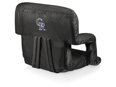 Colorado Rockies Picnic Time Ventura Portable Reclining Stadium Seat