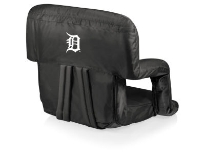 Detroit Tigers Picnic Time Ventura Portable Reclining Stadium Seat