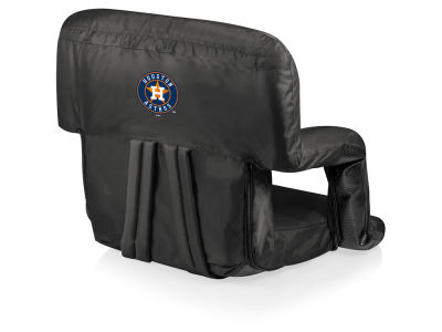 Houston Astros Picnic Time Ventura Portable Reclining Stadium Seat