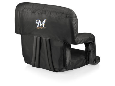 Milwaukee Brewers Picnic Time Ventura Portable Reclining Stadium Seat