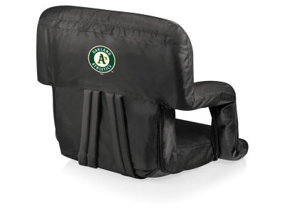 Oakland Athletics Picnic Time Ventura Portable Reclining Stadium Seat